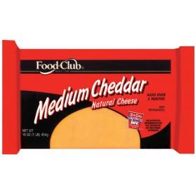 FDC MEDIUM CHEDDAR
