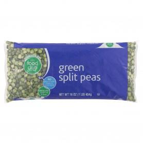 FC SPLIT GREEN PEAS DRY