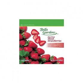 Bella GRDN IQF Sliced Strawberries 16oz