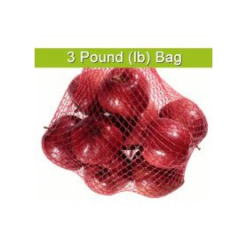 RED ONION BAG 3LB