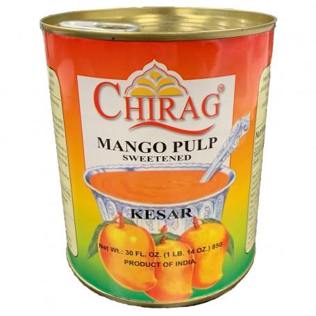 CHIRAG MANGO PULP KESAR 850 GM