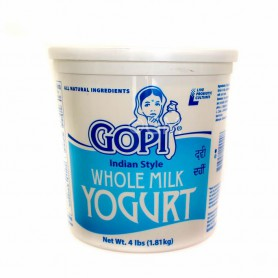 GOPI WHOLE MILK YOGURT 4LB