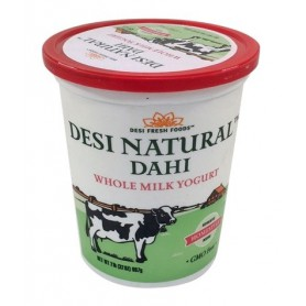 DESI DAHI  WHOLE MILK 2 LB