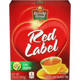 BB RED LABEL TEA LOOSE 450 GMS
