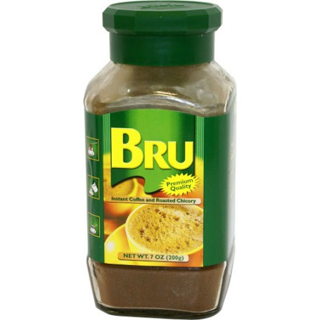 BRU COFFEE GLASS BOTLE 200 GMS