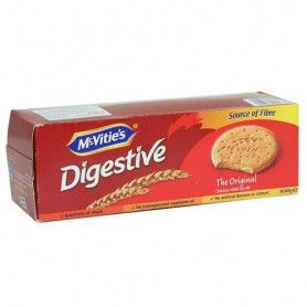 MCVITIES DIGESTIVE BIS  400GM