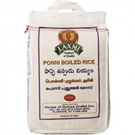 LB PONNI BOILED RICE 20 LB