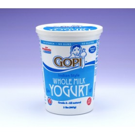 GOPI PL YOGURT 32OZ/2LB