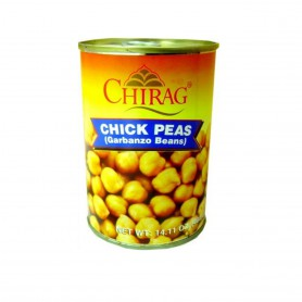 CHIRAG CHICK PEAS CAN 400 GMS